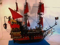 Queen Anne's Revenge: A LEGO® creation by swash buckler : MOCpages.com