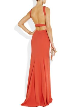 Calvin Klein Collection  Nyx backless jersey gown                                  Nyx backless jersey gown