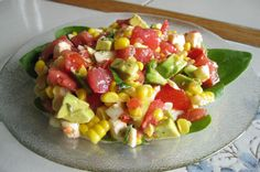 Make and share this Fresh Mozzarella Salad W/ Avocado, Roasted Corn & Tomato recipe from Food.com.