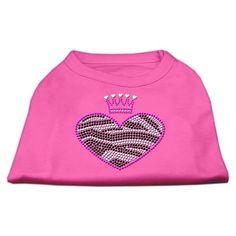 E,Zebra Heart Rhinestone Dog Shirt Bright Pink XXXL (20): Bid: 12,98€ (£12.01) Buynow Price 12,98€ (£12.01) Remaining Listing Closed A…