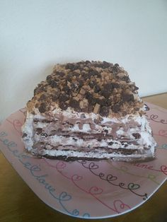 Easy Ice Cream Cake And A Surprise