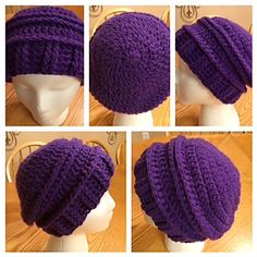 Carleigh Marie Beanie - free crochet hat pattern by Denise Crawford. Worsted weight.