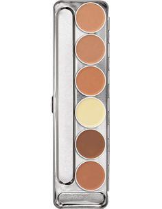Ultra Foundation Palette 6 Farben | Kryolan - Professional Make-up