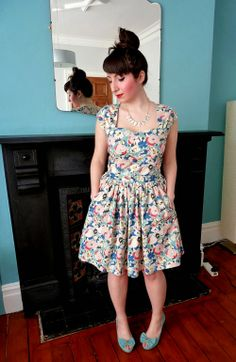 A Stitching Odyssey: Springtime Cambie Dress - Minerva Blogger Network
