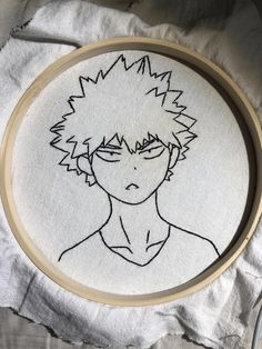 Diy Embroidery Shirt, Diy Embroidery Patterns, Embroidery On Clothes, Simple Embroidery, Hand Embroidery Patterns, Cross Stitching, Cross Stitch Embroidery, Anime Crafts, Sewing Art