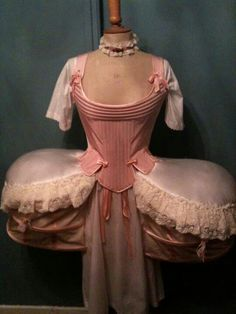 18th Century underpinnings  - I think these are reproductions but lovely.  Looking for original source !!!!