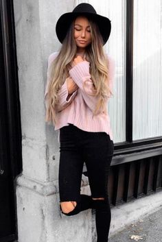 Spring Hairstyles with Hats Pic 3