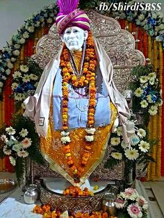 """When your service becomes selfless, it is then that the Power of Shri Sai works through you. It flows through you making you realize that you are infact His greatest miracles on the face of entire creation.""   ‪#‎sairam‬ #shirdi #saibaba #saideva  ❤️ॐ❤️OM SAI RAM❤️ॐ❤️  Please share; FB: www.fb.com/ShirdiSBSS Twitter: https://twitter.com/shirdisbss Blog: http://ssbshraddhasaburi.blogspot.com  G+: https://plus.google.com/100079055901849941375/posts Pinterest: www.pinterest.com/shirdisaibaba"
