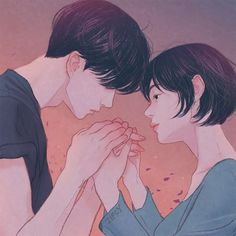 ⚡ have you begun to understand what you represent and your value? I hope that everyday. you are filled with joy🌩️ Cute Couple Art, Anime Love Couple, Cute Anime Couples, Cute Couple Drawings, Love Drawings, Couple Illustration, Illustration Art, Illustrations, Dibujos Cute