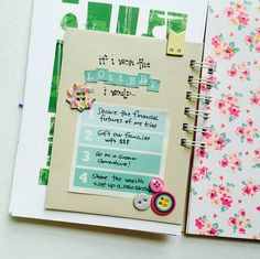 See how I used a smashbook style journal from the iloveitall.etsy.com shop for the #listersgottalist challenge! | I Love It All