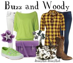 Buzz and Woody! (only with a green flat)