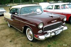 1955 Chevy BelAir HT..Re-pin brought to you by agents of #Carinsurance at #HouseofInsurance in Eugene, Oregon