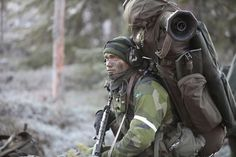 Swedish army ranger fully loaded