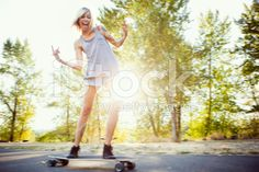 shows youth, liked idea of skate boarding as its a popular hobby