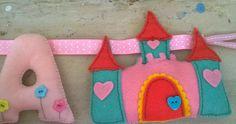 every princess needs a castle Felt Name, Garlands, Kids Room, Castle, Princess, Toys, Decor, Wreaths, Activity Toys