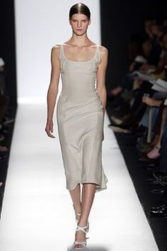 Narciso Rodriguez Spring 2004 Ready-to-Wear Fashion Show - Narciso Rodriguez, Madeleine Blomberg