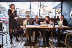 Emilia Vasaryova, famosa actriz eslovaca, compartió unas emotivas palabras con los participantes sobre el contenido del libro y sus experiencias relacionadas con las pérdidas http://www.crecimientoemocional.org/blog/presentacion-del-libro-an-unwanted-journey-en-bratislava/