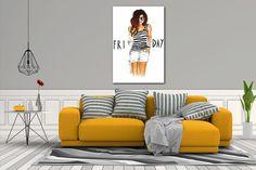 Péntek – Vászonkép Nyomda Throw Pillows, Bed, Home, Toss Pillows, Cushions, Stream Bed, Ad Home, Decorative Pillows, Homes