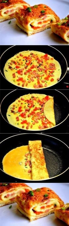 How to cook a Catalan omelette. Comida Picnic, Good Food, Yummy Food, Russian Recipes, International Recipes, I Foods, Food Inspiration, Kids Meals, Food To Make