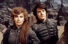 """Francesca Annis and Kyle MacLachlan in """"Dune"""" (1984)"""