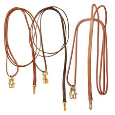 Tory Leather One Piece Draw Reins with Sliding Snaps   The Cheshire Horse