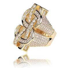 Ice Giant, Rock Rings, Hip Hop Chains, Dollar Sign, Ring Shapes, Types Of Rings, Colored Diamonds, Jewelry Stores, White Gold