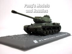 IS-2 (JS-2, Joseph Stalin) Russian Main Battle Tank 1/72 Scale Diecast Metal Model by War Master