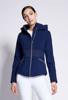 You can't beat classic navy in equestrian fashion! Timeless, elegant and matches all colours of horses!