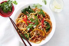 Quick chicken mince stir-fry