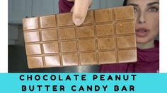 Chocolate Peanut Butter Candy Bar Recipe   High Protein