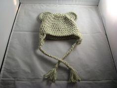 Crochet Korner Crochet Bear Hat All Sizes Green by CrochetKorner, $15.00