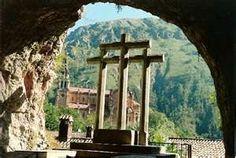 Asturias Cueva de Covadonga Spian