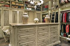 Habersham Custom Dressing Room Designs. I would love to turn a bedroom into a big closet! :) def a must for me.