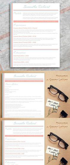 Resume Template for Word Pinterest Template, Professional resume - cover letter sample for job application fresh graduate