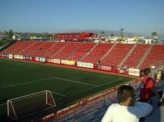 Estadio Caliente en Tijuana, BC casa de los Xoloitzcuintles de Tijuana.