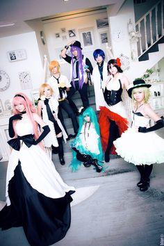 Eager Love Revenge - War by lavena-lav on DeviantArt Vocaloid Cosplay, Hatsune Miku, Revenge, Ballet Skirt, War, Deviantart, Love, Fashion, Amor