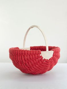 Pandeira basket by Idoia Cuesta