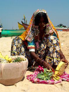 Goan woman - India