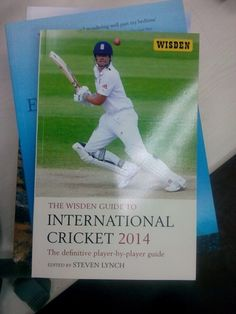 Wisden Guide to International Cricket 2014 Bedtime, Cricket, Baseball Cards, Sports, Hs Sports, Sport