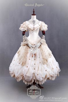 "frederica1995: "" Classical Puppet - Elisabeth dress reservation """