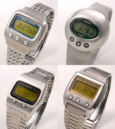 Vintage Seiko LCD watches