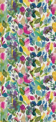 Let the colour in with our modern wool rug Mode. Brighten your home with feel good design from bluebellgray, a Scottish textile design company. Pattern Dots, Doodle Pattern, Design Floral, Motif Floral, Floral Prints, Floral Rugs, Cute Wallpapers, Wallpaper Backgrounds, Iphone Wallpaper