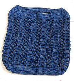 Moonlight Crochet Market Bag - Free Pattern