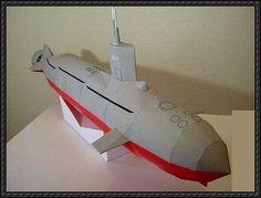 Paper Mache Submarine Download
