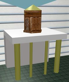 Tabernacle inside the Old Church for 3D Browsing, Check it out at WalkTheWeb.com