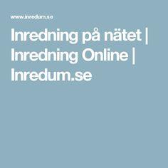 Inredning på nätet | Inredning Online | Inredum.se