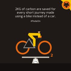 Let's ride for a clean and green environment because when we heal the earth, we heal ourselves! #PedalON #CyclingBenefits