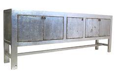 Silver 5-Door Tall Sideboard on OneKingsLane.com