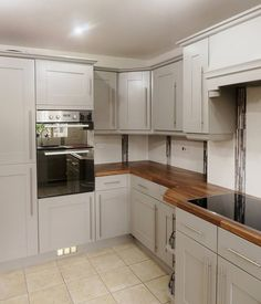 Some more beautifully hand painted kitchens by Lee Simone, Imaginative Interiors, Traditional Painter in Yorkshire...