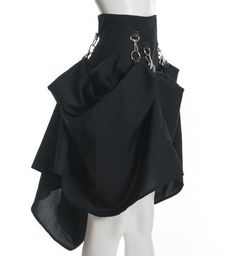 I love this steampunk skirt from www.etsy.com it's $150.00 #Steampunk #Fashion
